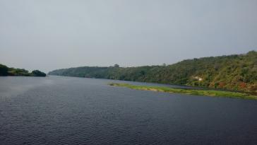 Am Kanal Tamango soll in Zukunft vermehrt Handel in Richtung des Atlantiks zu Mündungen in Brasilien und Uruguay geführt werden