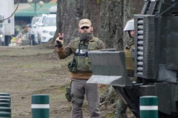 """Carabineros in Chile im Einsatz bei der """"Operación Huricán"""" gegen Mapuche"""