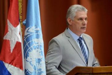 Kubas Präsident Miguel Díaz-Canel