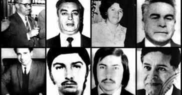 Die acht Kommunisten wurden im Juli und August 1976 festgenommen und in den Standort der Brigade Lautaro, die Kaserne Simón Bolívar in Chile verschleppt