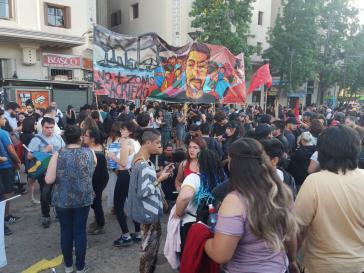 In vielen Städte in Chile finden Demonstrationen gegen den Mord an Camilo Catrillanca statt