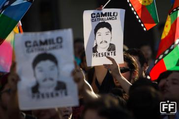 Die Proteste gegen den Mord an Camilo Catrillanca gehen in ganz Chile weiter