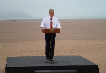Zieht die Leere der Wüste der Lehre der Geschichte vor: Chiles Präsident Sebastián Piñera
