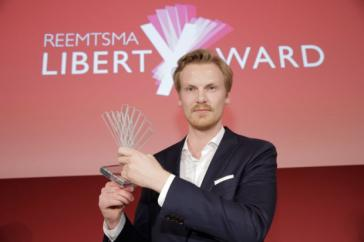 """Claas Relotius wurde 2017 mit dem """"Liberty-Award"""" der Reemtsma-Stiftung ausgezeichnet. Er hat diesen und andere Auszeichnungen inzwischen zurückgegeben"""