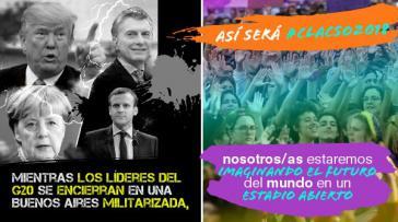 """Clacso-Einladung zum Weltforum des Kritischen Denkens: """"Während die G20-Führer sich in einem militarisierten Buenos Aires einschließen, werden wir in einem offenen Stadion sein und uns die Zukunft der Welt vorstellen"""""""
