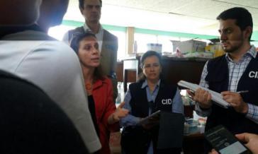 Eine Delegation der Interamerikanischen Menschenrechtskommission hält sich in Managua, Nicaragua auf