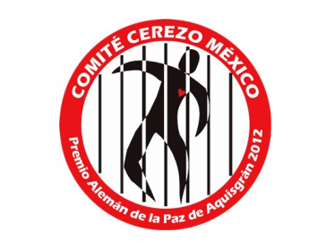 Logo des Comité Cerezo. Die Organisation bekam für ihre Arbeit 2012 den Aachener Friedenspreis