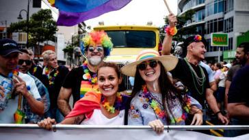 Demonstration gegen Diskriminierung und für die Gleichstellung der gleichgeschlechtlichen Ehe in Costa Rica