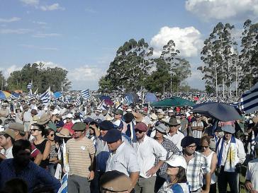 Seit Januar gehen Vertreter des Agrarsektors in Uruguay immer wieder gegen die Regierung auf die Straße