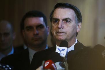 Brasiliens gewählter Präsident Jair Messias Bolsonaro will trotz erster diplomatischer Spannungen die Botschaft in Israel von Tel Aviv nach Jerusalem verlegen