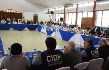 Am Freitag hat in Nicaragua die zweite Sitzung des nationalen Dialoges unter der Leitung der katholischen Bischöfe stattgefunden
