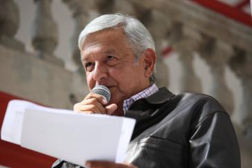 Der designierte Präsident López Obrador will einen Pakt zur nationalen Aussöhnung in Mexiko umsetzen