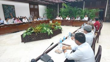 Vertreter der ELN haben zum letzten Mal mit der Regierung von Juan Manuel Santos über ein Friedensabkommen verhandelt