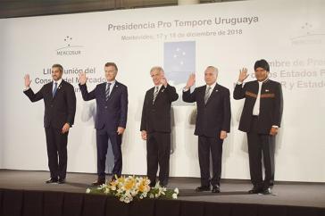 Die Präsidenten der verbleibenden Mercosur-Staaten trafen sich zur Beginn der Woche in Montevideo