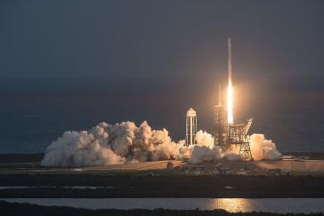 Start eines SES-Kommunikationssatelliten