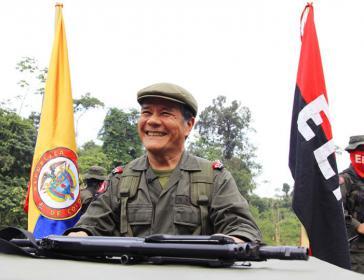 Der Oberkommandierende der ELN, Nicolás Rodríguez Bautista