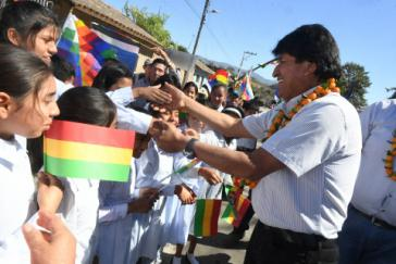 Die erneute Kandidatur von Boliviens amtierendem Präsidenten Evo Morales ist nach Auffassung der CIDH verfassungskonform