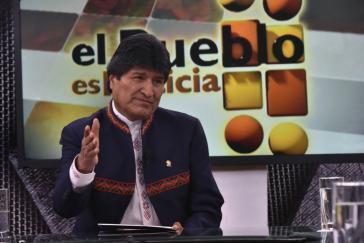 Der Präsident von Bolivien, Evo Morales, kündigte am Sonntag im staatlichen Fernsehen eine Überarbeitung der geplanten Reformen des Strafgesetzbuches an