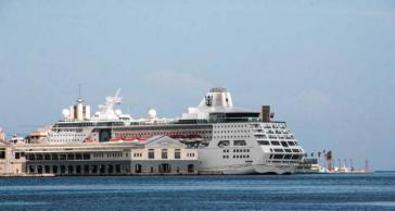 Anlaufpunkte für internationale Kreuzfahrtschiffe