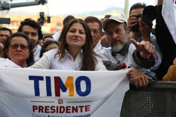 """Die Kandidatur des Farc-Chefs Rodrigo Lodoño alias """"Timochenko"""" ist wohl eher symbolischer Natur"""