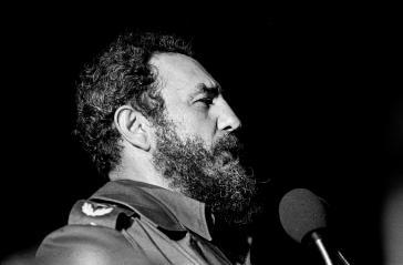 Fidel Castro bei einer Ansprache in Havanna im Jahr 1978