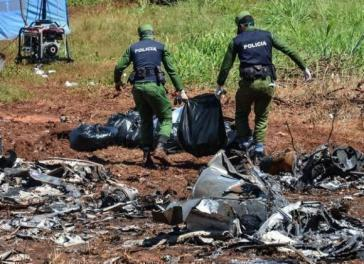 Die Untersuchungen zur Ursache des Flugzeugabsturzes in Kuba vom 18. Mai werden mit Hochdruck fortgeführt