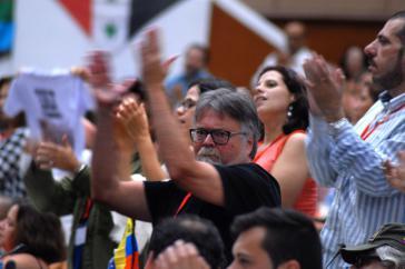 Unter den Anwesenden beim São Paulo in Havanna, Kuba, herrschte durchaus kämpferische Stimmung