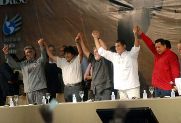 Präsidenten der Linksregierung Lateinamerikas, 2009