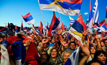 Feiern zum Jubiläum der Frente Amplio in Uruguay