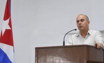 Dr. Roberto Morales Ojeda, Minister für öffentliche Gesundheit von Kuba