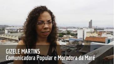 Gizele Martins aus der Favela Maré in Rio de Janeiro, Brasilien
