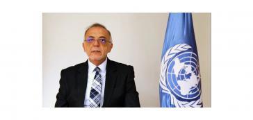 Iván Velásquez, der Leiter der CICIG, dem die aktuelle Regierung die Einreise ins Land verweigert, wurde per Videokonferenz zugeschaltet