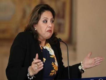 Unter Landsleuten in den USA offenbar unbeliebt: Außenministerin von Guatemala, Sandra Jovel