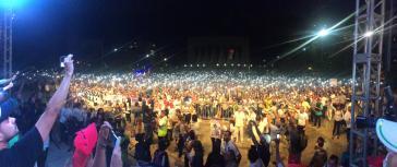 Abschlussrede der Wahlkampagne von Gustavo Petro in Barranquilla