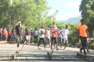 Die Proteste gegen Betrügereien beim Petrocaribe-Programm in Haiti reißen nicht ab