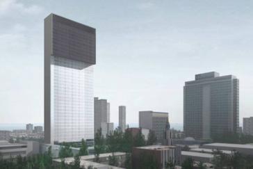 Das geplante Hotel im Stadtteil Vedado von Havanna soll 154 Meter hoch werden, auf 42 Stockwerken sollen 565 Zimmer entstehen