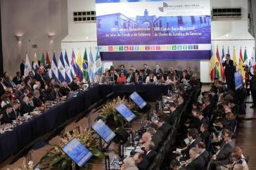 Der 26. Iberoamerika-Gipfel fand in Antigua, Guatemala statt