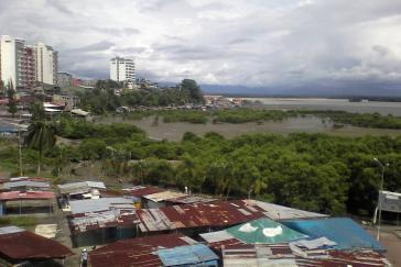 Die kolumbianische Hafenstadt Tumaco ist immer wieder Schauplatz von Gewaltausbrüchen