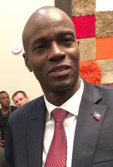 Jovenel Moïse, Präsident von Haiti