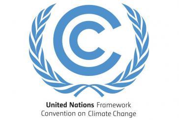 Logo der Klimarahmenkonvention der Vereinten Nationen