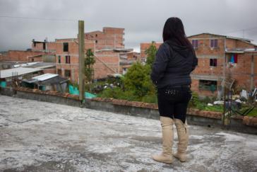 Olga, eine von vielen bedrohten Aktivistinnen in Kolumbien