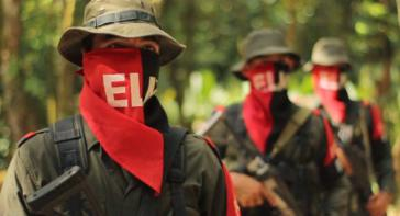 Mitglieder der ELN-Guerilla in Catatumbo, Kolumbien