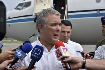 Neuer Präsident von Kolumbien: Iván Duque