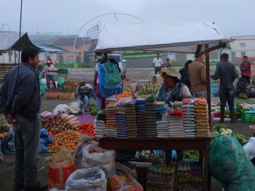 Markttag in San Lorenzo