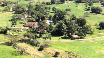 "Die Hacienda ""La Carolina"" in Kolumbien, Besitz der Familie Uribe"