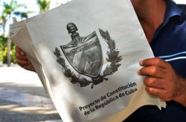 Entwurf der neuen Verfassung von Kuba