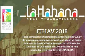 Die 36. Internationale Handelsmesse findet vom 29. Oktober bis zum 2.November in Havanna statt