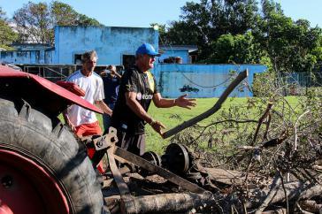 "Aufräumen nach dem Hurrikan ""Irma"" in Kuba"