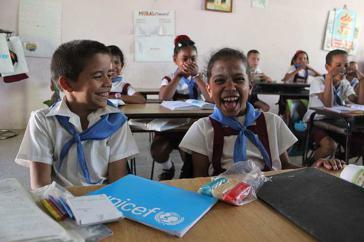 Laut Unicef ist Kuba weltweit führend beim Schutz und bei der Förderung von Kinderrechten