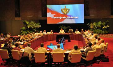 Kubas Ministerrat tagte unter Vorsitz von Präsident Díaz-Canel